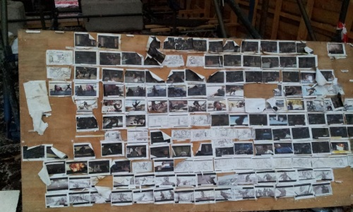 The Wolverine storyboard