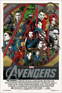 The Avengers poster by Mondo