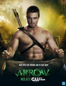 """Arrow"" promo poster"