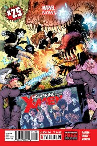 Wolverine & and the X-Men #25