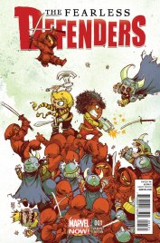 The Fearless Defenders #1 - Skottie Young variant