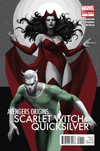 The Maximoff Twins: Scarlet Witch and Quicksilver