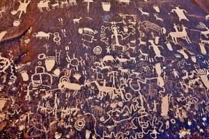 anasazi cave drawings
