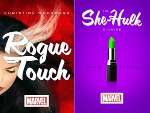 Rogue Touch and She-Hulk Diaries from Hyperion