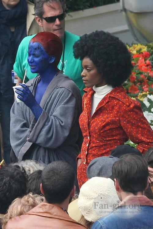 Mystique and possibly Misty Knight?