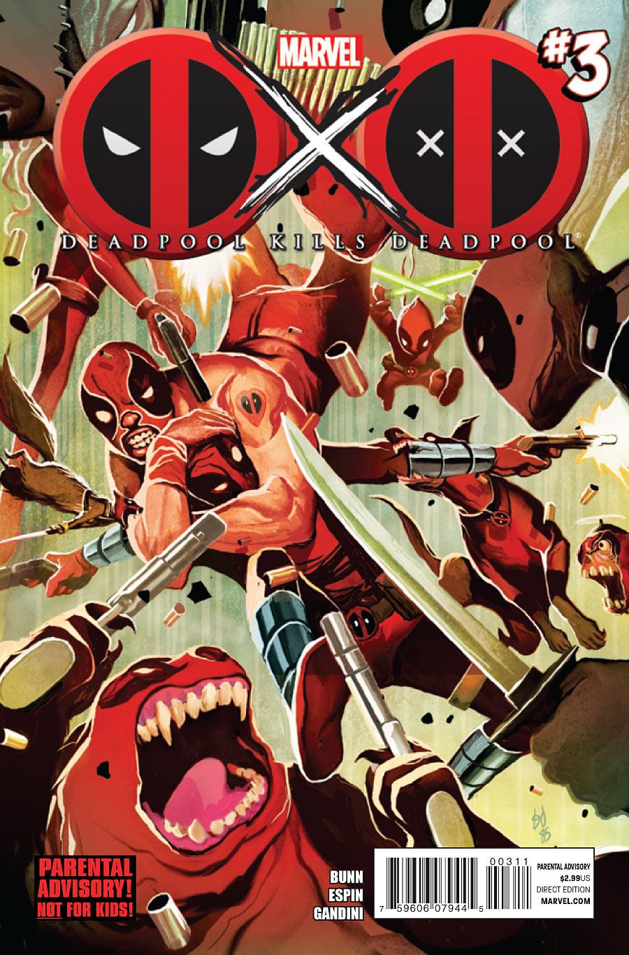 Deadpool Kills Deadpool X Men The Fan Fic Series