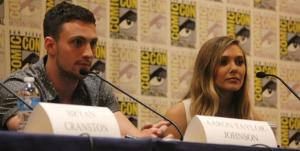 Aaron Taylor-Johnson and Elizabeth Olsen